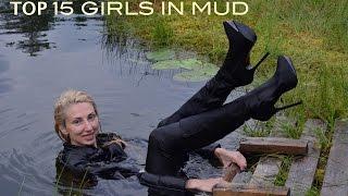 getlinkyoutube.com-TOP 15 GIRLS IN WATER AND MUD