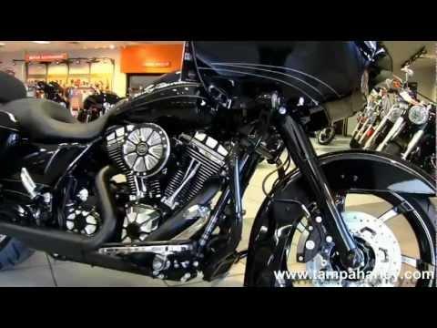 New 2013 Harley-Davidson FLTRX Road Glide Custom Bad Ass Bagger Entry