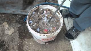 getlinkyoutube.com-How to prepare mixture for briquettes