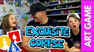 getlinkyoutube.com-How To Play Exquisite Corpse + SYA