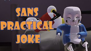 getlinkyoutube.com-Undertale -  Sans practical joke 【MMD】