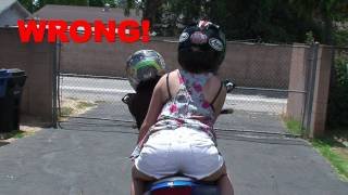getlinkyoutube.com-How to Carry a Passenger on a Motorcycle? 2 UP riding on a Motorcycle Tutorial