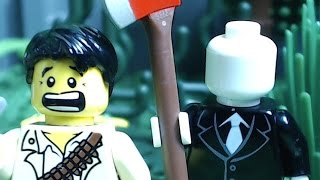 getlinkyoutube.com-Lego Slender Man 2: The Death of Slender Man