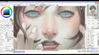 getlinkyoutube.com-[Anonymous 33] Painting Process with Sai + Photoshop