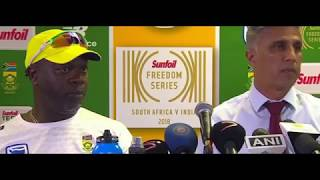 SA Team Manager Speaks On Pitch Issue | India vs South Africa 2018 3rd Test Day 3