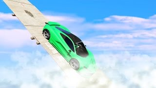 RACING IN THE CLOUDS! (GTA 5 Funny Moments)