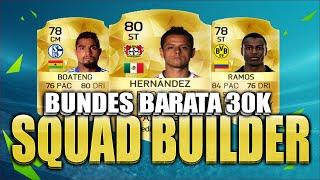 getlinkyoutube.com-Plantilla bundesliga barata 30k | FIFA 16 | Squad Builder bundesliga 30k | ESPANOL