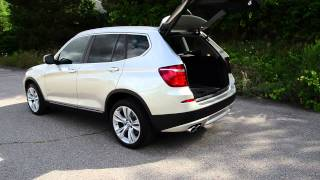 getlinkyoutube.com-2011 BMW X3 - WINDING ROAD Quick Drive
