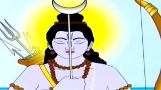 getlinkyoutube.com-Kumbhakarna Fights With Shri Rama, Kumbhakarna: The Sleeping Demon - Tamil Animated Story Part 6