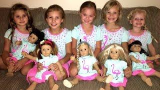 getlinkyoutube.com-American Girl Doll Party