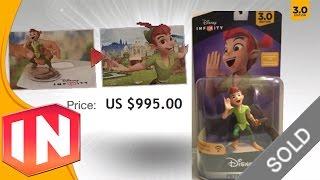 getlinkyoutube.com-Disney Infinity 3.0 - Peter Pan Pre-release Production Run Figure Sells On Ebay For $995!