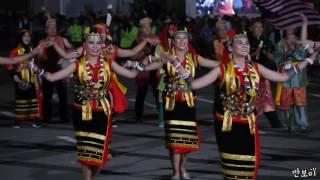 Bayu UNIMAS Malaysia  Cheonan world dance festival 2016