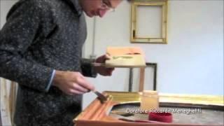 getlinkyoutube.com-Cours de dorure - Part 4 - Feuille d'or et d'argent véritable