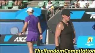 getlinkyoutube.com-Drama In Women Tennis Compilation Part 3