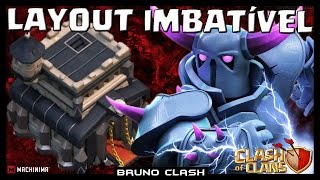 getlinkyoutube.com-LAYOUT IMBATIVEL no CV9? - Clash of Clans - Bruno Clash