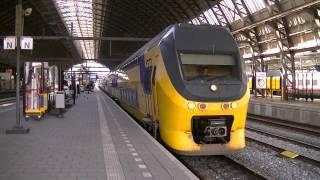 getlinkyoutube.com-Treinen in Amsterdam Centraal 2014 - Dagje door Nederland