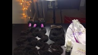 getlinkyoutube.com-Diamond Dynasty Virgin Hair |Brazilian BodyWave