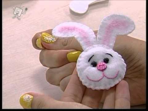 Ateliê na Tv - 02-04-12 - Priscila Cunha - Sacolinha de Páscoa