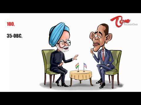 PM Manmohan Singh On Aarakshan (Reservation) - Funny Video