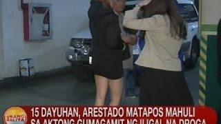 15 dayuhan, arestado matapos mahuli sa aktong gumagamit ng iligal na droga