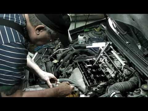 Тагаз BYD F3 двс 4G15S замена сальников клапанов.
