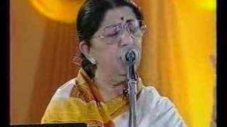 getlinkyoutube.com-Lata Mangeshkar - Jo Wada Kiya (Live Performance)