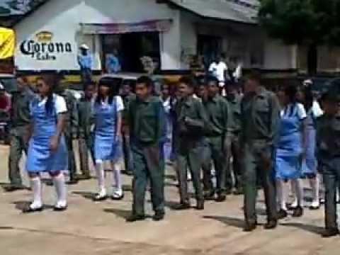 san antonio villalongin michoacan desfile del 16 de sep 2012