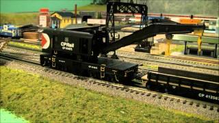 CP-Rail Lionel Crane Car Review
