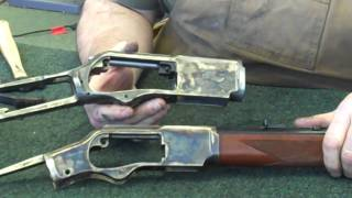 getlinkyoutube.com-Gunsmithing: Winchester Model 1873 & 1876 .45 Colt (Gunworks)
