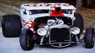 BLOWN BIG BLOCK CHEVY START UP RIDE BY * CRAZY INSANE BURNOUTS, MUST SEE