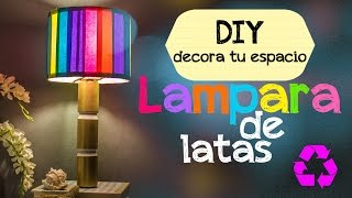 getlinkyoutube.com-DIY: Lampara de latas