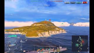 getlinkyoutube.com-【WoWs】 大海原で砲雷撃戦 Part.2【ゆっくり実況】