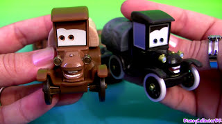 getlinkyoutube.com-Time Travel Mater Radiator Springs Beginnings Cars Toons Mater's Tall Tales Carsland Disney toys