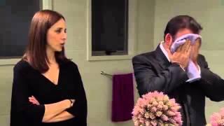 getlinkyoutube.com-Rosa diamante - Raquel cachetea a Gerardo