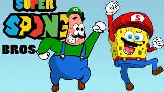 getlinkyoutube.com-Super Sponge Bros