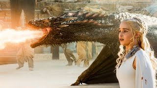 getlinkyoutube.com-Drogon Rescues Daenerys Targaryen - Game of Thrones Season 5 Episode 9 - S05E09