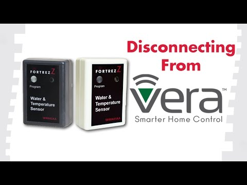 How to Remove Devices From Vera: FortrezZ Water & Temperature Sensor