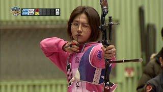 getlinkyoutube.com-【TVPP】Sinwoo(B1A4) - M Archery Final, 신우(비원에이포) - 남자 양궁 결승 @ 2014 Idol Star Championships