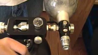 getlinkyoutube.com-~How To~ Filling a Paintball Tank off a Scuba Tank ~How To~