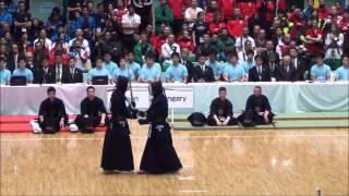 getlinkyoutube.com-第16回世界剣道  準決勝 日本対ハンガリー Japan vs Hungary [16th wkc]