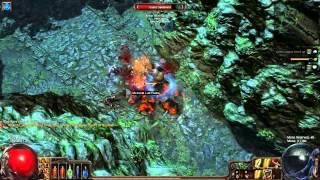 getlinkyoutube.com-Path of Exile - 3 Hour Solo Race (S1E95) Rank#5 Duelist