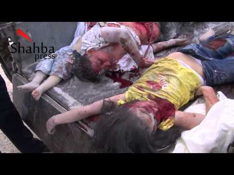 The Massacre of Kafr Hamra, Aleppo (Syria)