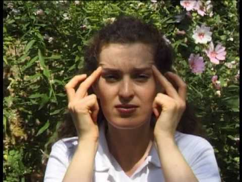 beautiful face acupressure points