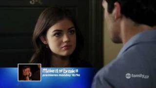 "Pretty Little Liars 1x03 ""To Kill a Mocking Girl""  Ezra and Aria Scenes"