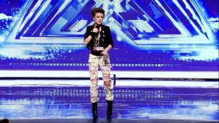 Cher Lloyd - Turn My Swag On (Audition) HD