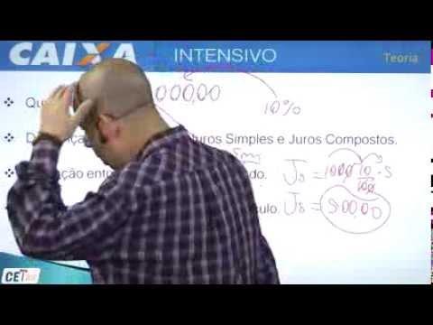 Juros Simples - Curso de Matemática Financeira - Caixa Econômica Federal (amostra)