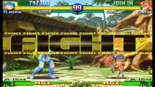 getlinkyoutube.com-Street Fighter Alpha 3(Zero 3) Expert difficulty Rainbow Mika 2:0 Playthrough