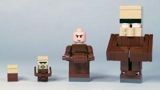 getlinkyoutube.com-How To Build LEGO Minecraft Villagers