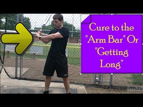 Baseball Swing Tips: Arm Bar Cure, Stop