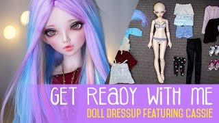 getlinkyoutube.com-Get Ready With Me - Doll Version ep.2